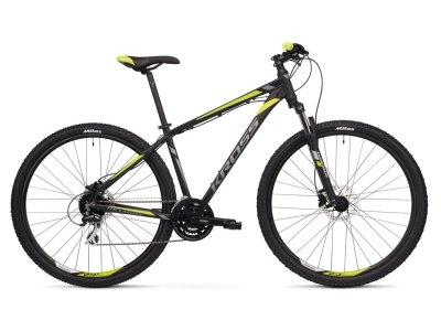 Bicicleta Montanha Kross Hexagon 5.0 Preto-Lima