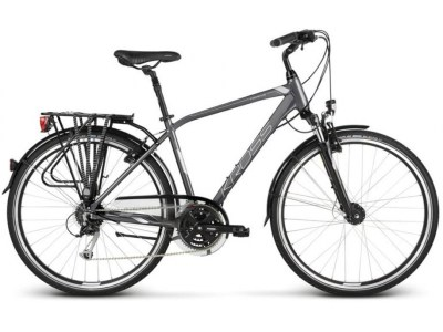 Bicicleta Urbana Kross Trans 5.0 Grafite-Cinza