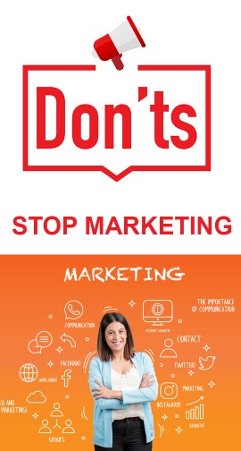 Don't Stop Marketing