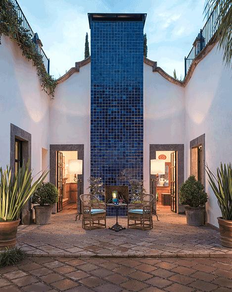 Hotel Amparo, San Miguel de Allende, Mexico