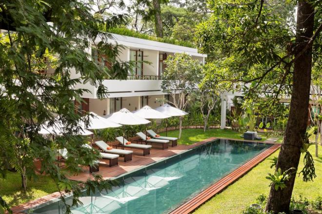 FCC Angkor Hotel, Siem Reap, Cambodia