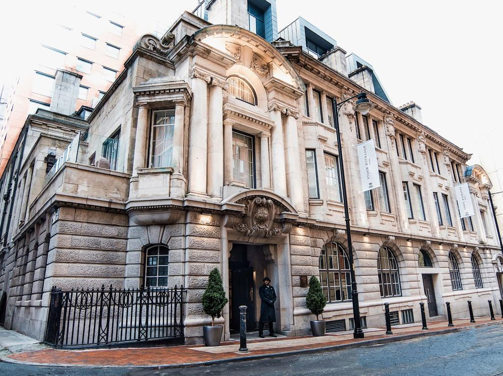 Stock Exchange Hotel Manchester