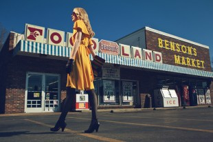 Fashion, Fine Art, Conceptual, Michael Howard, Grocery Store