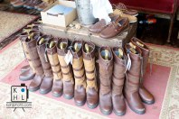 Dubarry of Ireland tent. Love these boots!