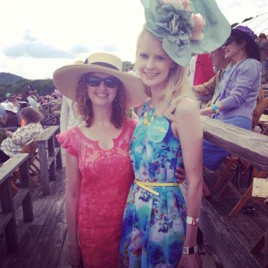 With friend Sutton
