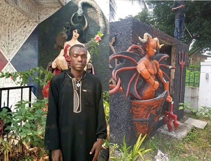 Youths demolish 'Church of Satan' in Abia State - DNB Stories