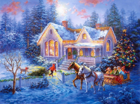 Welcome Home Winter Amp Nature Background Wallpapers On