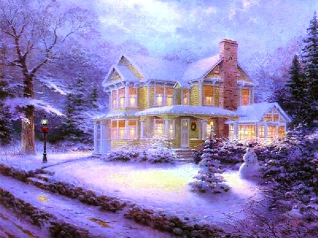 Victorian Christmas Winter Amp Nature Background