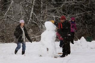 Leaning Snowman (TC)