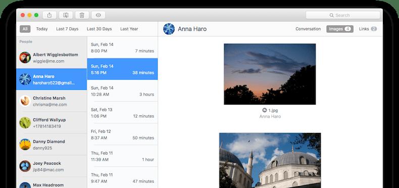 Chatology 1.2 Mac 破解版 - 聊天记录查看器