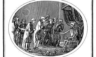 Death Holding Court