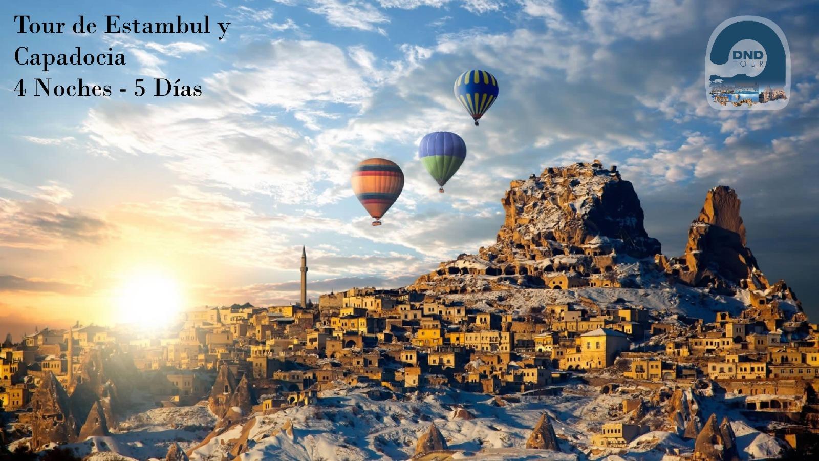 Tour de Estambul y Capadocia