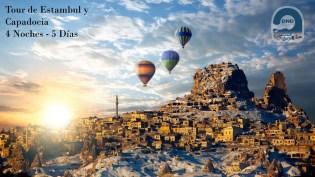 Tour Istambul e Capadócia