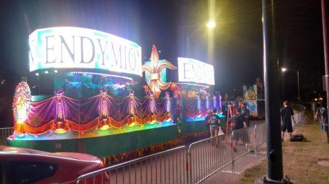 illuminated Mardi Gras Floats