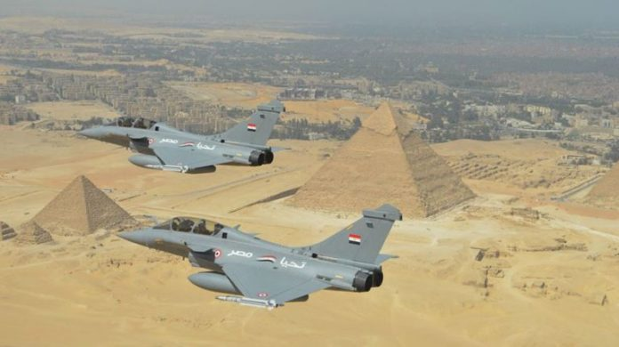 Egypt to buy 30 Rafale fighter jets from France for $4.5bn