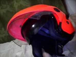 double visor masih okee