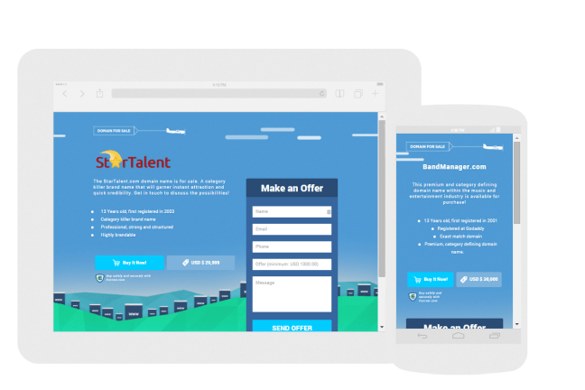 Sell More with Efty For-Sale Landing Pages - DNgeek