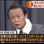 麻生大臣「東京は資金あるけど他県やれるかね」。DNGJAPAN-NET