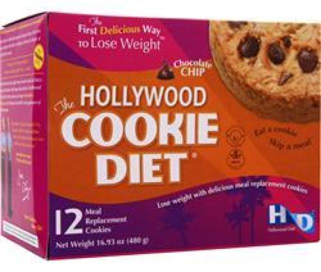 Hollywood Diet Hollywood Cookie Diet Chocolate Chip  Count