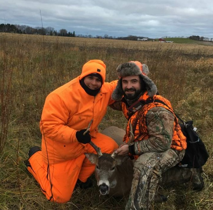 Winder hunted opening morning with a friend who introduced him to hunting and as you can see - he's a natural! Congrats Winder and a big thanks to your friend for taking the time to share his passion for the outdoors.