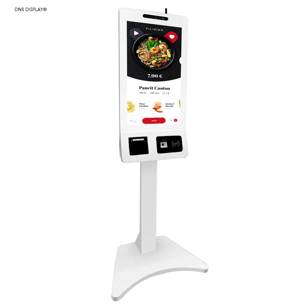 32inch self ordering service kiosk-left front