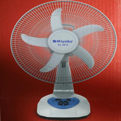Miyako Rechargeable Fan KL-5914