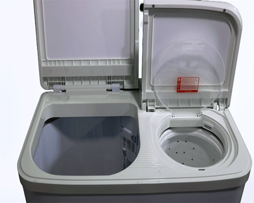 inside Miyako washing machine
