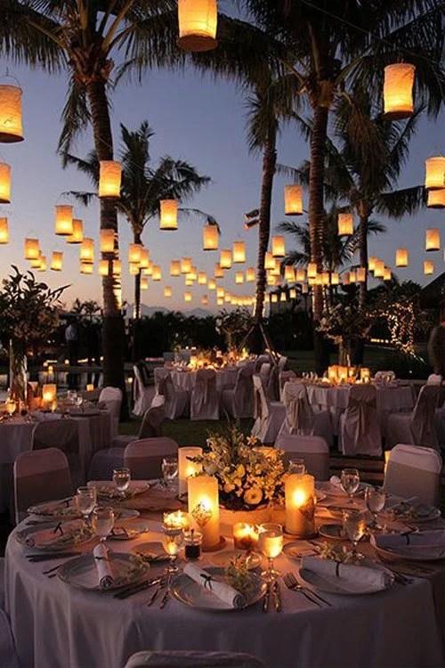 Beach Theme Wedding Reception Ideas