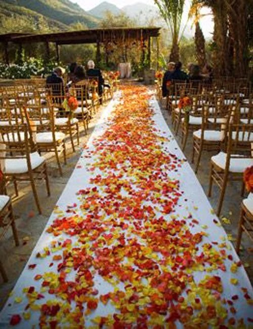 Inexpensive Wedding Ideas Fall