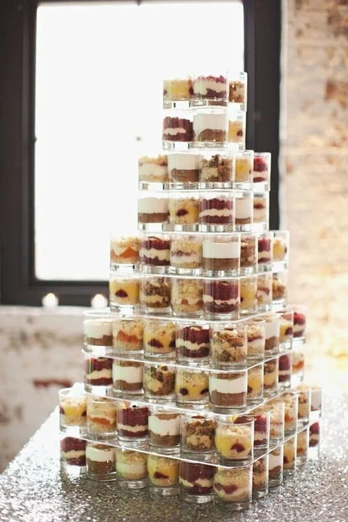 The 19 Best Wedding Cake Alternatives Every Bride Should Consider Cake Cups