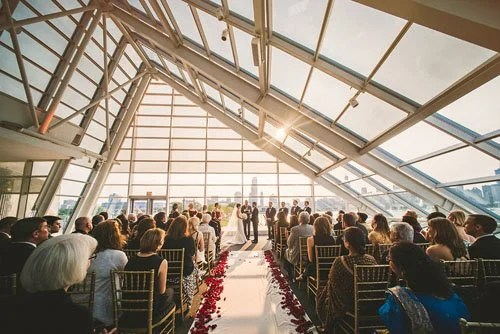 Wedding Venue Review Adler Planetarium