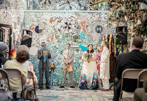 Wedding Venue Review Philadelphias Magic Gardens