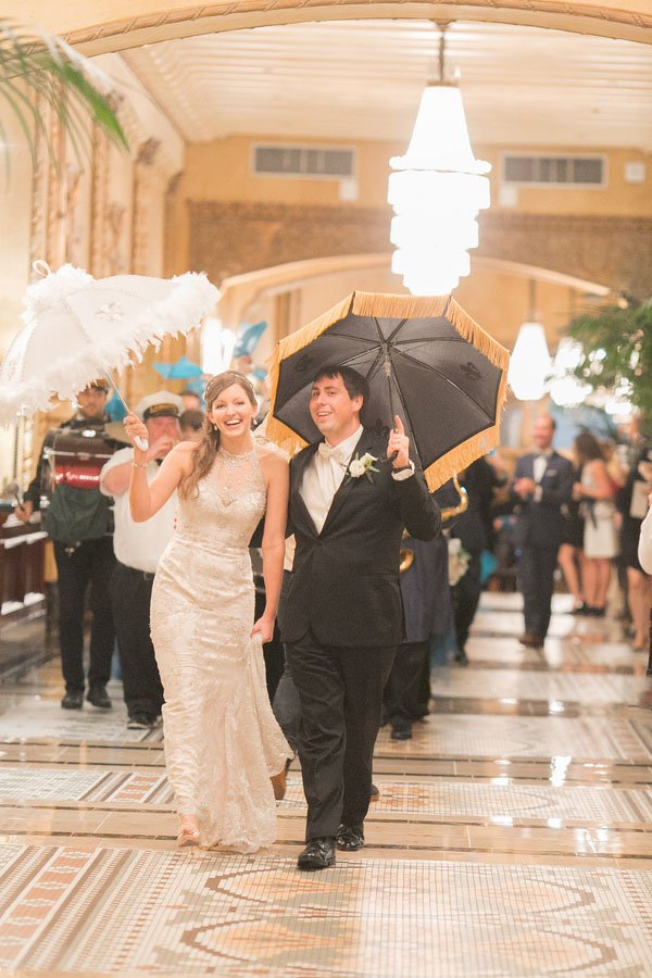 A Gorgeous New Orleans Wedding At The Roosevelt Hotel