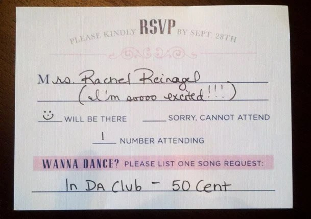 Formal Response Card Etiquette Mind Your Rsvps Qs How To Respond A Wedding Invitation