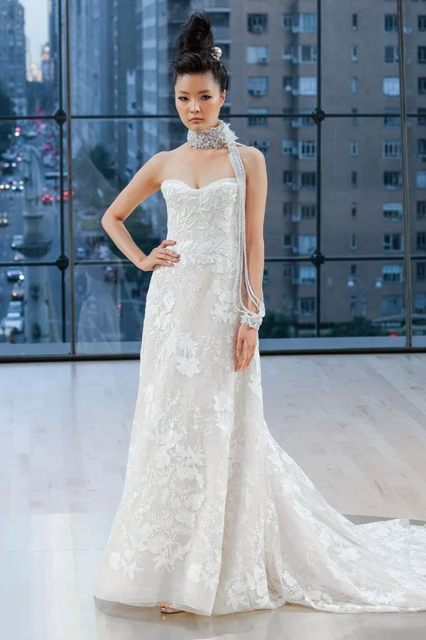 First Look Ines Di Santo Fall 2018 Wedding Dress Collection