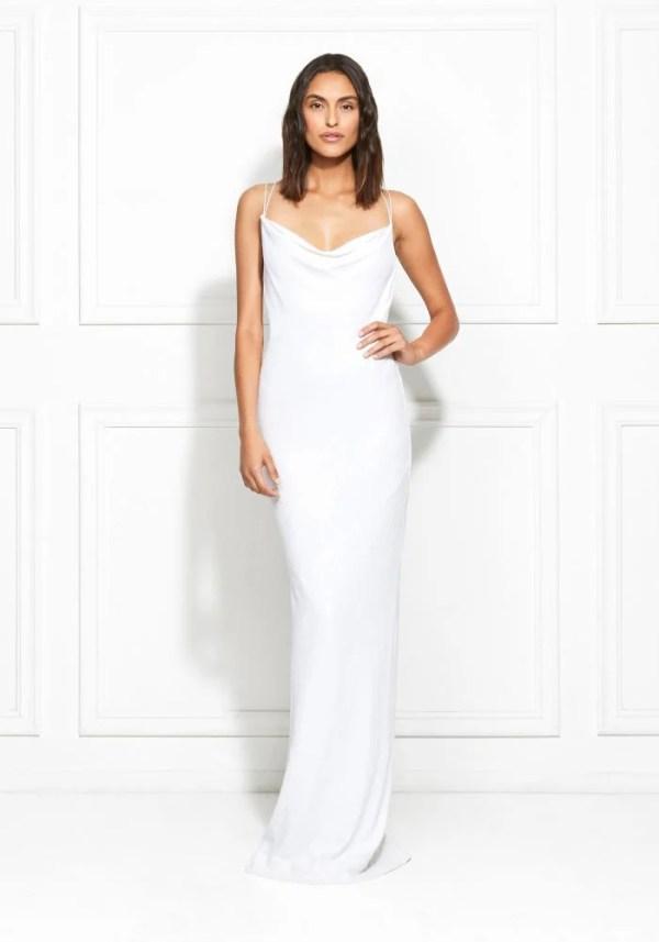 Rachel Zoe Bell Fluid Sequin Gown ($625)