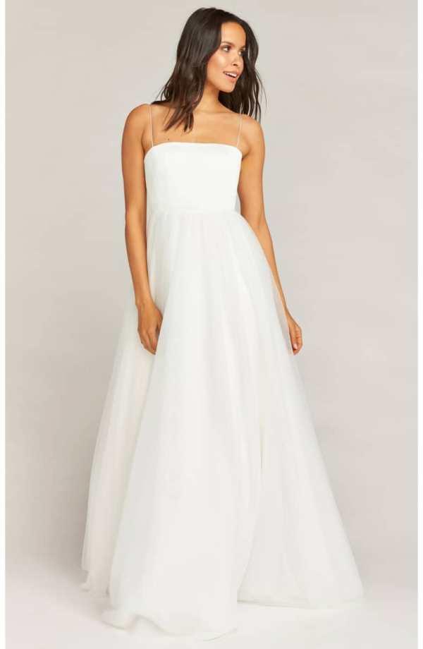 Show Me Your Mumu Palace Tulle Wedding Dress ($1,295)