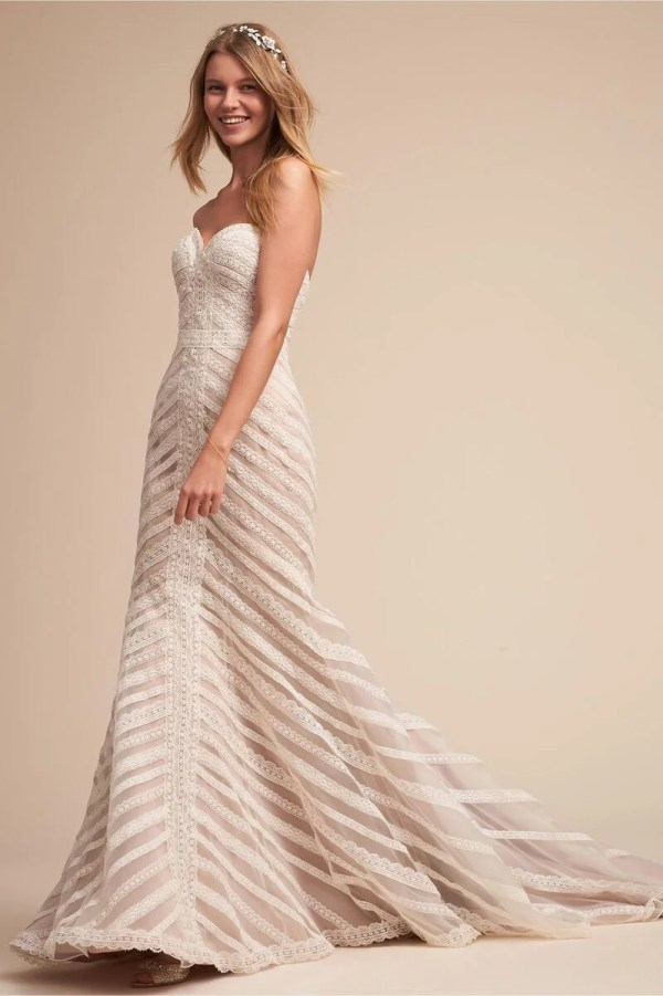 Whispers & Echoes Waverly Gown in Ivory ($300)