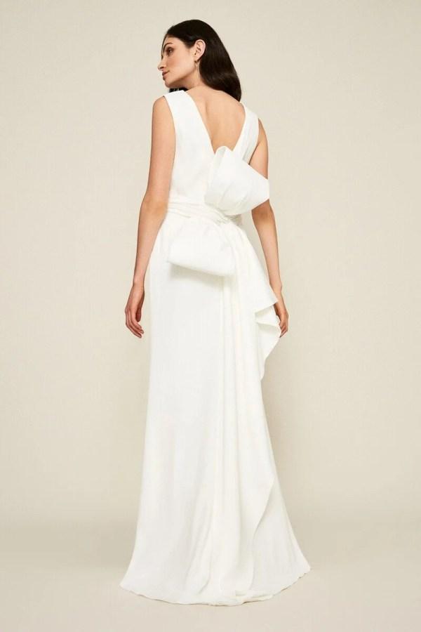 Tadashi Shoji Bow-Detail Crepe Gown ($518)