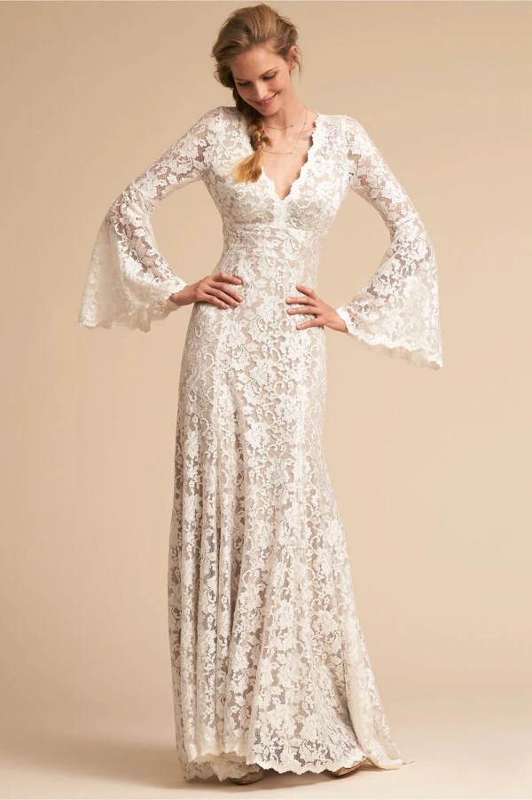 BHLDN Watters Lucca Gown ($200)