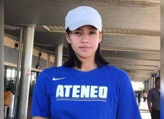 DUMAGUETE CITY, Negros Oriental, Philippines - Bago City native Dyna Nieves takes her talents to Katipunan and play for Ateneo de Manila University (ADMU).