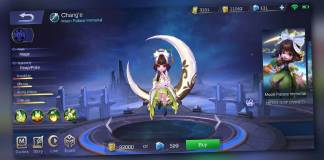 If you're having a rough time leveling up in rank games, I suggest you try Chang' e.