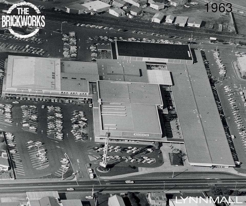 An image of LynnMall from its early days.