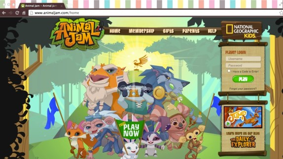 www.animaljam.com Where the beasts run wild...
