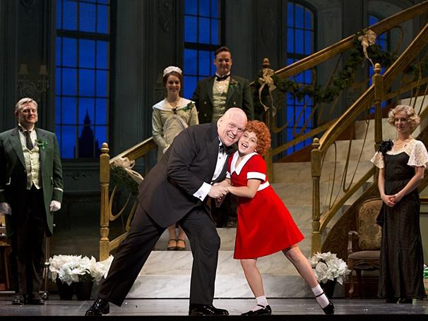 Production photos of the national tour cast of Annie Photographer: , © Broadway.com