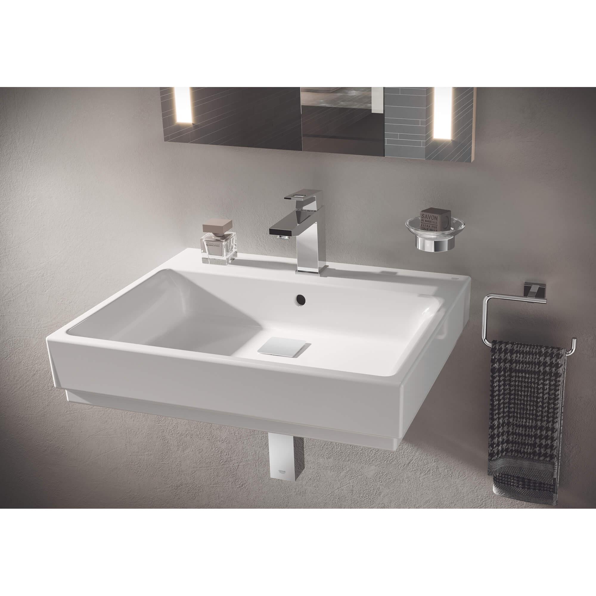 holder for glass soap dish or soap dispenser