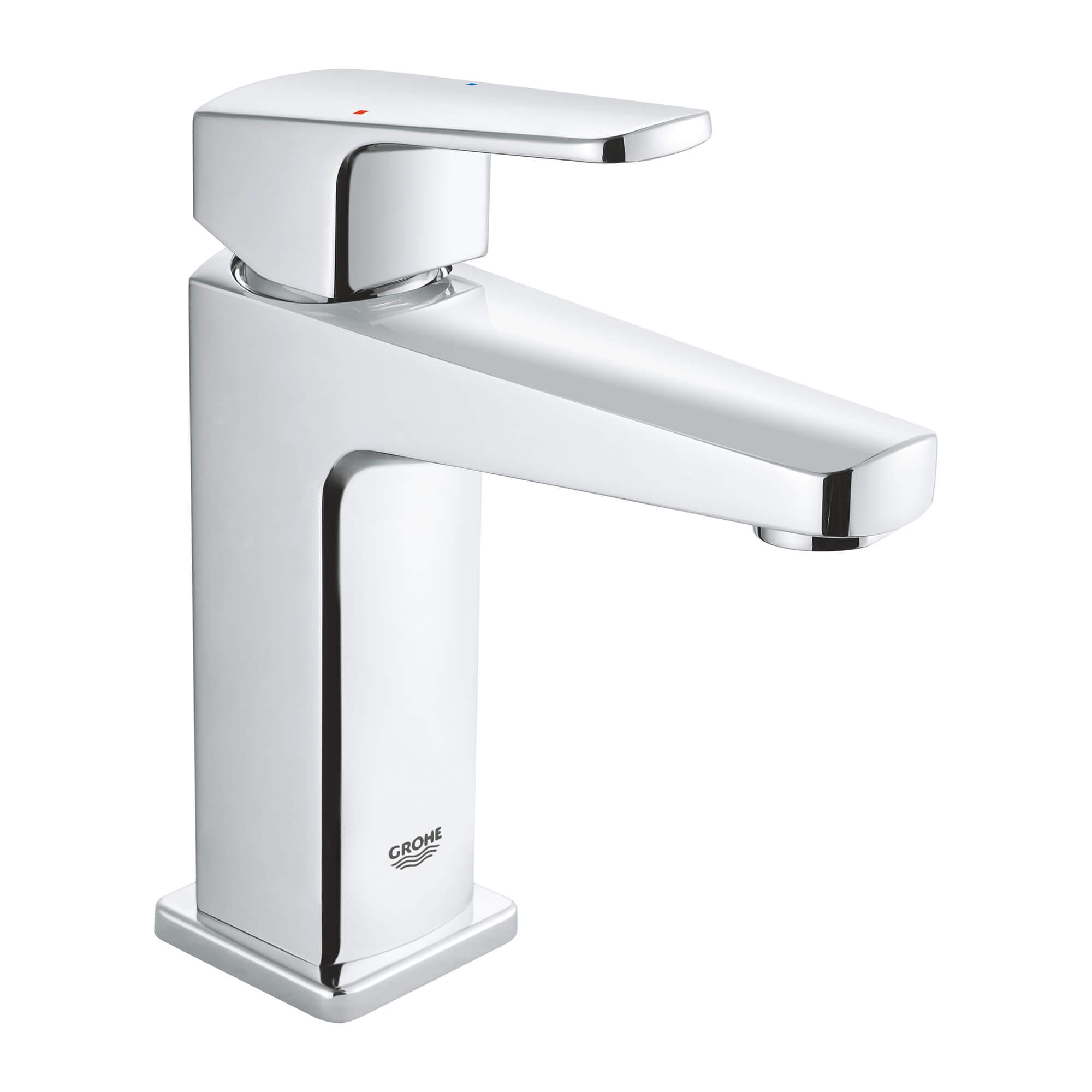 single handle 4 centerset bathroom faucet