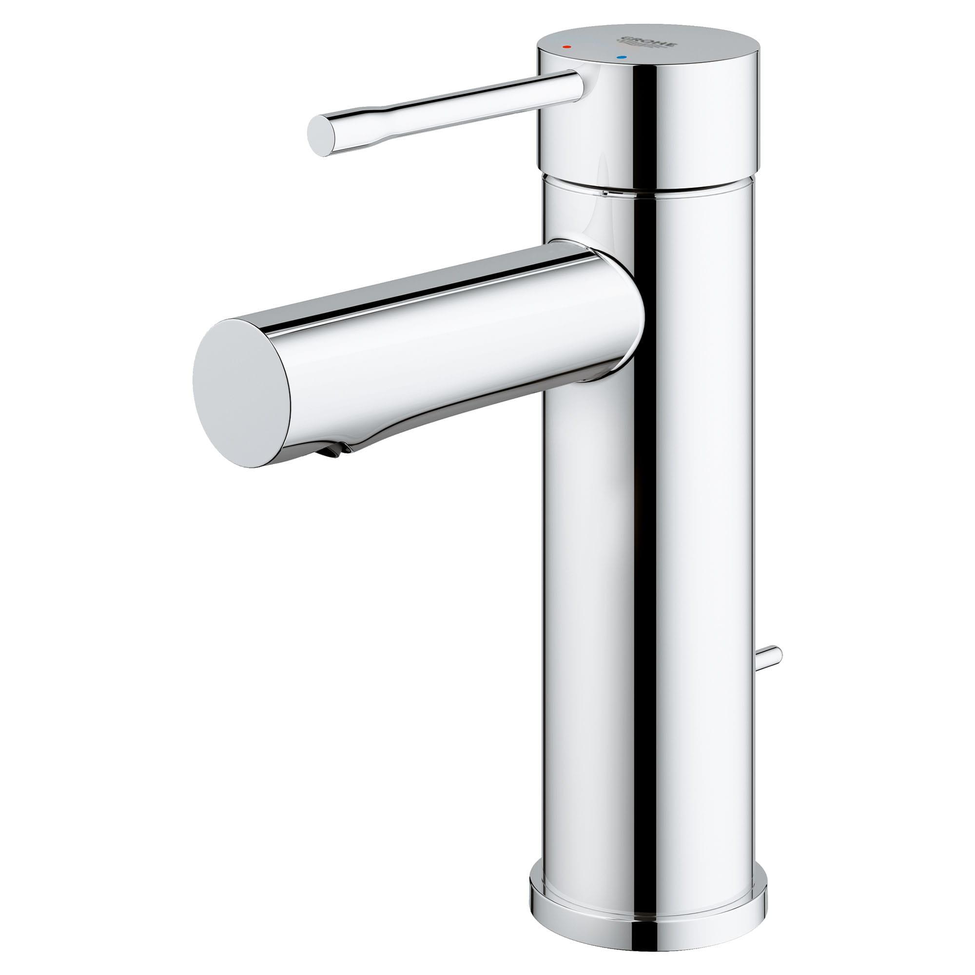 single hole single handle s size bathroom faucet 4 5 l min 1 2 gpm