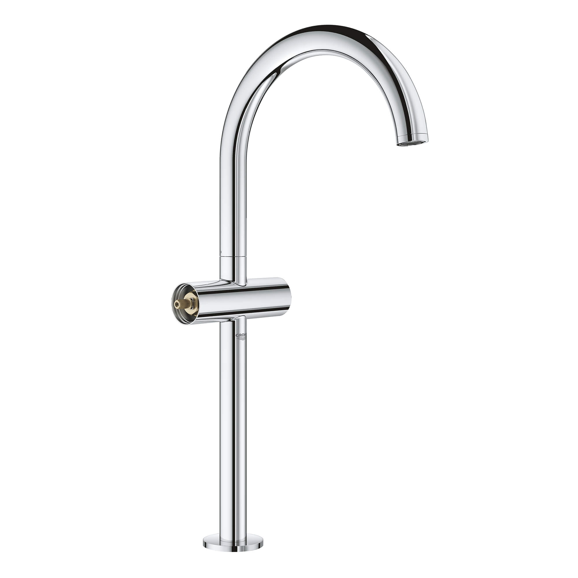 single hole two handle deck mount vessel sink faucet 1 2 gpm
