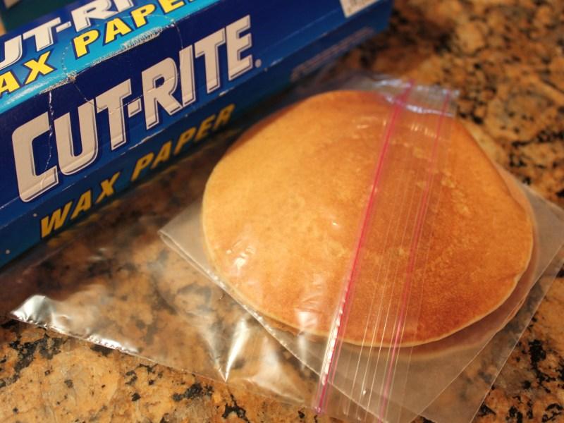 Freeze Pancakes